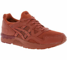 Asics Gel-Lyte V Men's Shoes Real Leather Sneaker Trainers Red h7n2l 2727 SALE