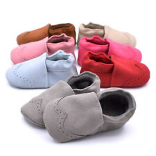 Soft Sole Crib Shoes Infant Toddler Baby Boy Girl Sneaker Newborn to 18Month gfd