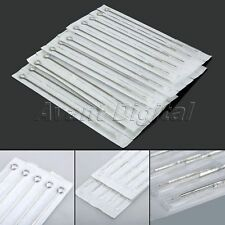 10/50Pcs 11RL Tattoo Needle Stainless Steel Round Liner Disposable Tattoo Supply