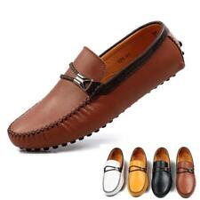Mens Casual Shoes Slip On Loafer Driving Moccasins gommino flat comfy shoes new