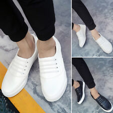 Breathable Men Driving Leisure Boat Shoes Leather Flats Moccasin Slip On Loafers