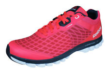 Reebok Sublite Super Duo Mens Running Trainers / Sports Shoes - Red