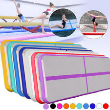 10ft x 3ft GoFun Air Track Inflatable Floor Home Gymnastics Tumbling Mat GYM