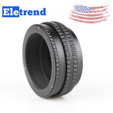 US M52 Lens to M42 Camera Adjustable Focusing Helicoid Ring Adapter 17 -31mm