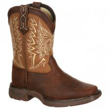 Lil Durango 8in Premium Let Love Fly Toddler/Youth Brown - Mens  - Size