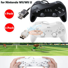 1 PC/2 PCS Classic Controller Pro Gamepad Joypad for Nintendo Wii/Wii U Remote