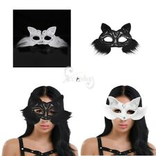 Women Ladies Cute Fox Eye Face Mask Cosplay Masquerade Party Halloween Costume