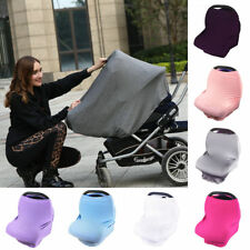 Stretchy Multi-Use Newborn Infant Nursing Cover Baby Car Seat Canopy Cart Cover
