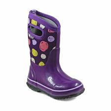 Bogs Kid's Classic Sketched Dots Kids' Insulated Boots Purple Multi 72159-540