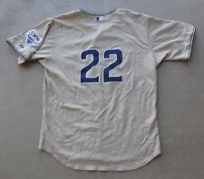 2005 MAJESTIC ATHLETIC XAVIER NADY #22 SAN DIEGO PADRES SAND BROWN JERSEY SZ 50