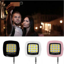 Portable Mini 16 LED Selfie Flash Fill Flash Light 3.5MM for Samsung iPhone