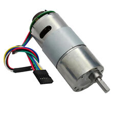 37GB545 DC6V Gear Motor With Encoder Electric Speed Reduce Motor 6-500rpm