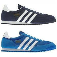 adidas ORIGINALS DRAGON TRAINERS MEN'S SHOES SNEAKERS RETRO TREFOIL 3 STRIPES