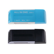 All-In-One USB 2.0 Multi Memory Card Reader Adapter For SD/SDHC MMC MS M2 TF New