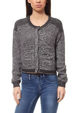 NEW Lee Knitted Ladies' Jacket Cardigan Knitted Jacket Sweater Black l52hro01