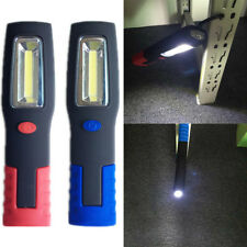 COB 6 LED Magnetic Plastic Work Light Flashlight Camping Fish Tent Lamp w/Hook