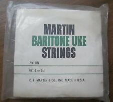 Vintage New Old Stock Martin Baritone Uke Strings in Original Package