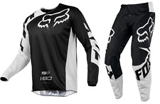 Fox Racing 180 Race Jersey Black Youth Sizing Motorcycle Off Road ATV F18Y1801