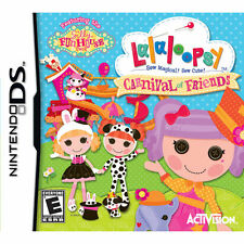 Lalaloopsy: Carnival of Friends (Nintendo DS, 2012) NEW