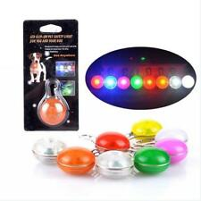 New Pet Dog Cat Puppy Fascinating LED Flashing Collar Safety Night Light Pendant
