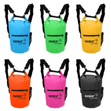 10L/20L Waterproof Dry Bag Backpack Floating Boat Kayak Camping & Zipper Pocket