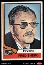 1974 Topps #21 Fred Shero -  Flyers EX/MT