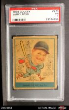 1938 Goudey Heads Up #273 Jimmie Foxx Red Sox PSA 1 - POOR