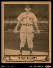 1940 Play Ball #197 Lou Finney -  Red Sox VG
