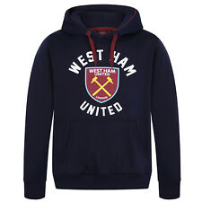 West Ham United FC Official Football Gift Mens Fleece Graphic Hoody