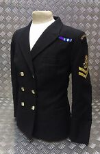 Genuine Royal Navy Woman's No1B Double Breasted Dress Jacket WRNS Officers