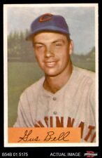 1954 Bowman #124 Gus Bell Errors are 11 & 26 Reds EX
