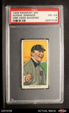 1909 T206 Hughie Jennings One Hand Showing Tigers PSA 4 - VG/EX