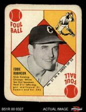 1951 Topps Red Back #51 Eddie Robinson -  White Sox EX