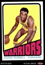 1972 Topps #112 Cazzie Russell  Warriors EX