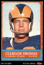 1963 Topps #131 Clendon Thomas Steelers VG
