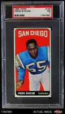 1965 Topps #156 Frank Buncom Chargers PSA 7 - NM