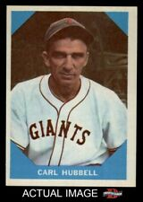 1960 Fleer #4 Carl Hubbell Giants NM