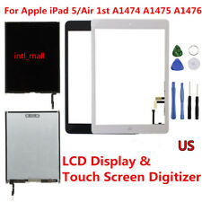 LCD Display Touch Screen Digitizer Replacement For Apple iPad 5 Air 1st Gen Lot