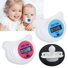 LCD Digital Infant Nipple Pacifier Thermometer Soother Temp Mouth Health Safety