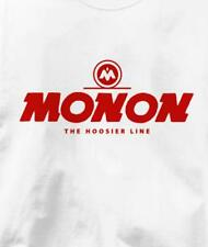 Monon Hoosier Line Railroad Train T Shirt All Sizes & Colors