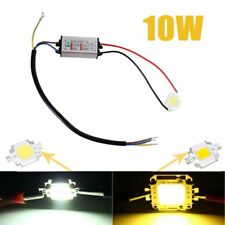 10W Cool/ Warm White High Power LED Driver Supply LED SMD Chip Bulb Waterproof