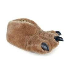 Mens SlumberzzZ 3D Monster Animal Feet With Claws Novelty Boot Slippers