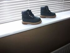 INFANT TODDLER BOY'S TIMBERLAND BLUE SUEDE LEATHER BOOTS SIZE 6 NICE COND