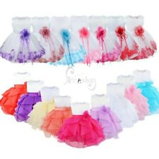 Toddler Baby Girl Princess Dress Petal Birthday Pageant Wedding Party Tutu Dress