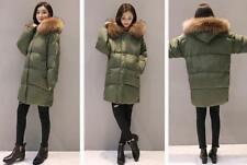 2017 Hot  New   Women's 100% Real Fur Down jacket Lady Parka Hot Warm Coat