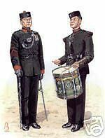 #10 - Bugle Major Band  Bde of Ghurka Print for Framing
