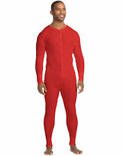 Hanes  X-Temp Men's Organic Cotton Thermal Union Suit