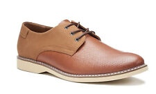 SONOMA mens MARTIN Casual Lace Up Oxfords Cognac brown Shoes 8.5 9.5 11 NEW