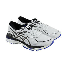 Asics Gel Cumulus 19 Womens White Mesh Athletic Lace Up Running Shoes
