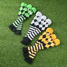 Hand Knitted Golf Club Headcover 3 Pcs/Set for Taylormade Driver 3 Wood & 5 Wood